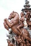 真相圣所在Pattaya 免版税图库摄影
