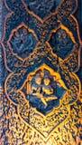 真相圣所是一个寺庙建筑在Pattaya, Thailand.The圣所是所有木头大厦充满在传统佛教和印度主题基础上的雕塑 免版税库存照片