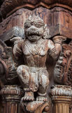 真相木寺庙在芭达亚 库存图片