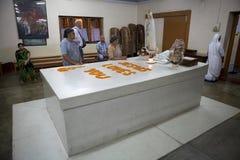 真福加尔各答的德肋撒坟茔,加尔各答,印度 库存图片
