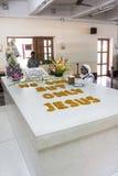 真福加尔各答的德肋撒的坟茔在加尔各答 库存图片