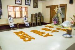 真福加尔各答的德肋撒的坟茔在加尔各答 免版税图库摄影
