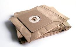 真空吸尘器袋 免版税库存图片