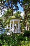 眺望台在公园 库存图片