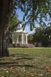 眺望台在华盛顿公园Dubuque衣阿华 库存图片