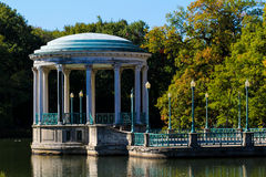 眺望台,罗杰威廉斯公园 免版税图库摄影