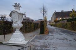 眺望楼公园在维也纳,奥地利 库存照片