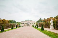眺望楼公园在维也纳 免版税图库摄影