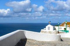 眺望楼在Sitio, Nazare (葡萄牙) 免版税图库摄影