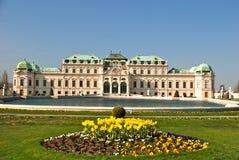眺望楼宫殿较大维也纳 免版税库存图片