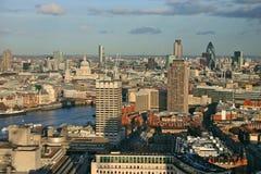 眼睛伦敦视图 图库摄影