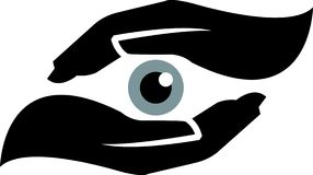 眼睛安全性 图库摄影
