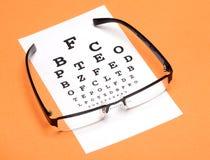 眼睛测试 免版税图库摄影