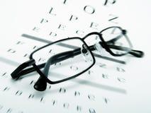 眼睛玻璃 免版税库存图片
