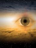 眼睛神 库存照片