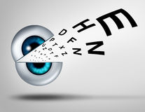 眼睛视觉概念 免版税库存照片