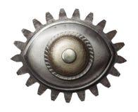 眼睛金属 免版税库存图片