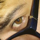 眼睛颜色 免版税库存照片