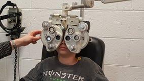 眼睛医疗保健 库存照片