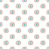 眼睛治疗样式,动画片样式 向量例证
