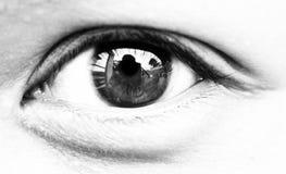 眼睛 库存照片
