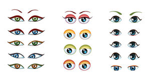 眼睛 向量例证