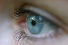 眼睛s妇女 免版税库存照片