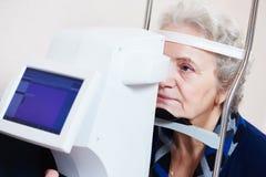 眼科学或视力测定 免版税图库摄影
