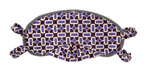 眼罩紫色 免版税库存图片