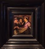 眼镜卖主, 1648,伦布兰特 库存图片