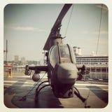 眼镜蛇战斗直升机 图库摄影