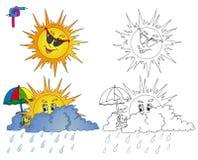 着色图象天气2 免版税图库摄影