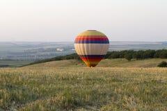 着陆气球 免版税库存图片