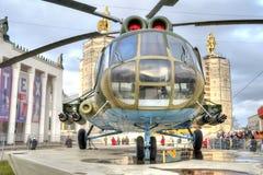 着陆直升机MI-8T 图库摄影