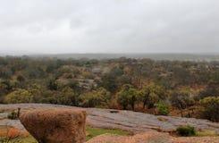 着魔岩状态自然地区,得克萨斯 库存照片