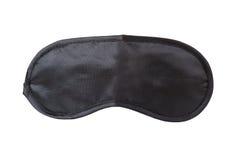 黑睡眠面具 免版税库存照片