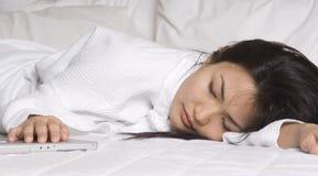 睡着 免版税库存图片