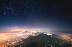 睡觉火山 图库摄影