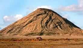 睡觉火山 库存照片