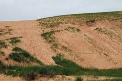睡觉熊沙丘国家公园密执安 库存照片