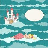 睡觉的公主 免版税图库摄影