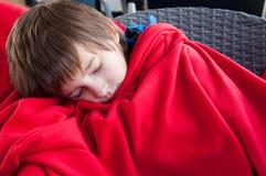 睡觉的孩子 免版税库存照片