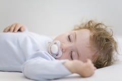 睡觉的婴孩 免版税图库摄影
