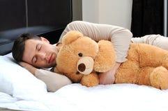睡觉 免版税图库摄影