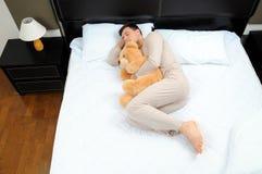 睡觉 免版税库存图片