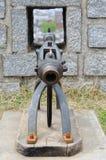 瞄准大炮 免版税库存照片