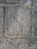 瞎的框架花岗岩 免版税库存图片