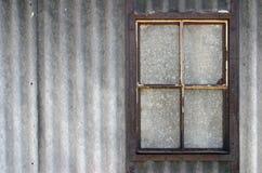 瞎的视窗 免版税库存照片