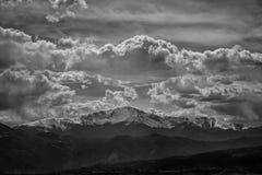 矛高峰科罗拉多 免版税库存照片
