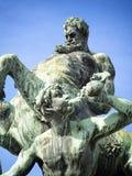 矢车菊喷泉在菲尔特 图库摄影